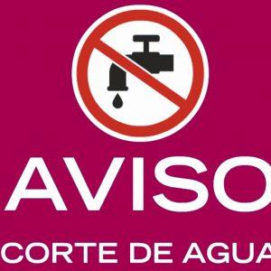revistos dos cortes de suministro de agua para este lunes 14 en Santa Bárbara y San Bernardo