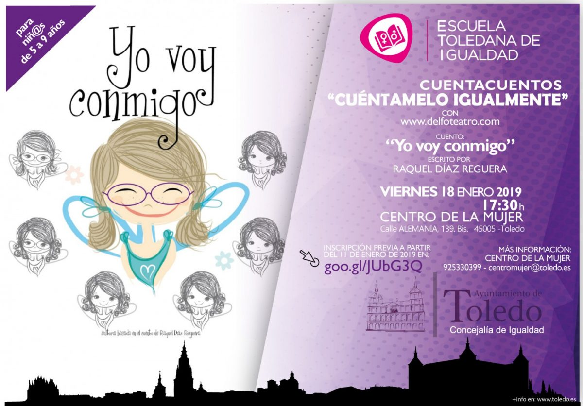 http://www.toledo.es/wp-content/uploads/2019/01/cuentacuentos-18-01-1200x836.jpg. El Ayuntamiento organiza para enero un cuentacuentos infantil y un taller de yoga para mujeres a través de la Escuela Toledana de Igualdad