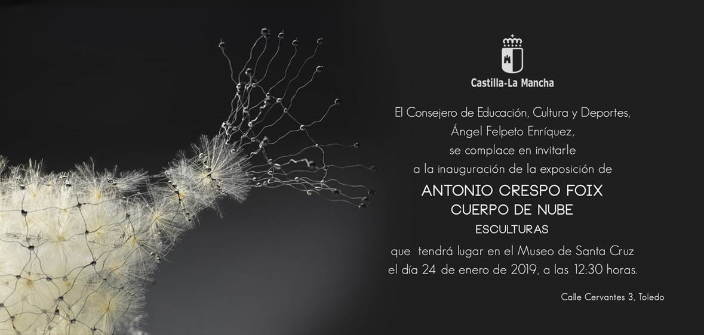 """http://www.toledo.es/wp-content/uploads/2019/01/cuerpo-de-nube.jpg. Exposición Esculturas """"Cuerpo de nube"""""""