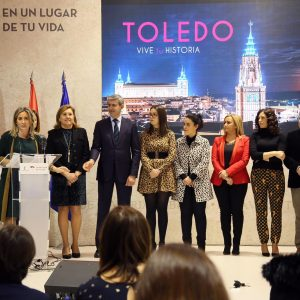a alcaldesa destaca la potencia cultural de la ciudad y del sector turístico para mantener a Toledo como destino de referencia