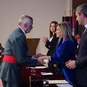 """ilagros Tolón: """"Con trabajo y esfuerzo contribuimos a que continúen el bienestar y el progreso de Toledo y de España"""""""