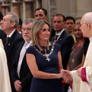 """La alcaldesa de Toledo traslada su pésame por el fallecimiento de Cleofé Sánchez, canónigo de la catedral, y """"un sacerdote muy querido por todos"""""""