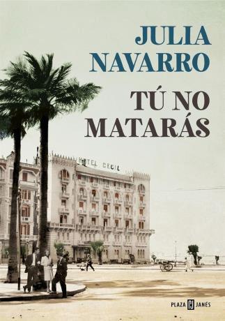http://www.toledo.es/wp-content/uploads/2019/01/julia-navarro.jpg. PRESENTACIÓN DE LIBRO: Tú no matarás de Julia Navarro