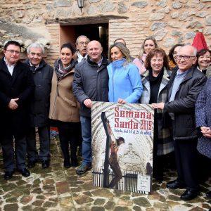 Milagros Tolón avanza que el Ayuntamiento reforzará su apoyo a la Semana Santa con la ampliación del convenio con las cofradías