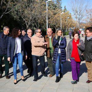 a mejora del Paseo de Don Vicente se suma a los proyectos de acondicionamiento urbano impulsados en el barrio de Santa Bárbara