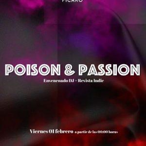 PÍCAROCLUB. 20 AÑOS: POISON & PASSION. ENVENENADUB DJ + REVISTA INDIE.