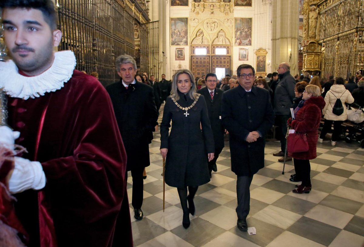 http://www.toledo.es/wp-content/uploads/2019/01/san-ildefonso_2-1200x815.jpeg. La alcaldesa participa en la eucaristía en rito hispano-mozárabe con motivo de la solemnidad de San Ildefonso