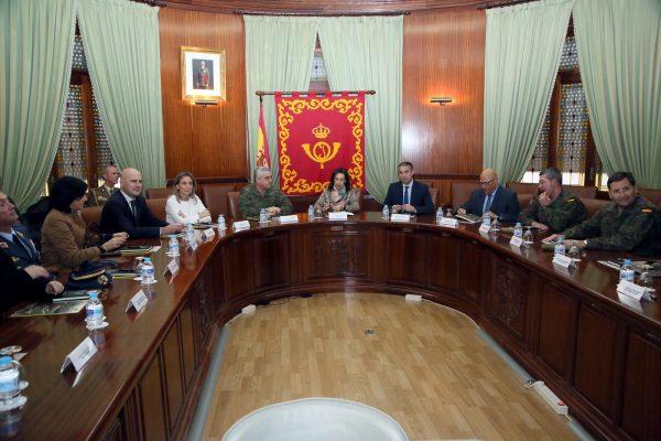 Visita de la ministra a la Academia de Infantería_3