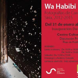Exposición Wa Habibi