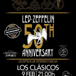 Whole lotta band. Led Zeppelin Live Experience tour 019