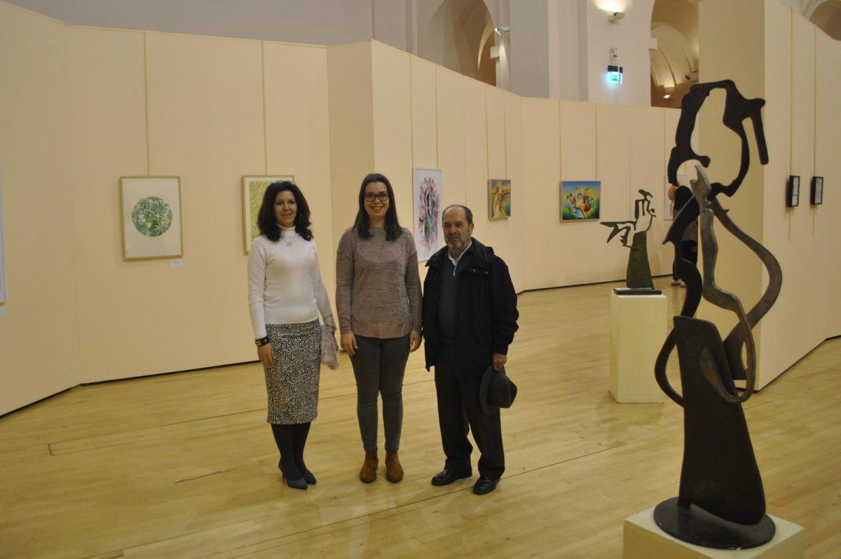 http://www.toledo.es/wp-content/uploads/2019/02/01-exposicion-10x10-1200x797.jpg. El Centro Cultural San Marcos acoge una exposición colectiva de artistas españoles y argentinos hasta el 24 de febrero