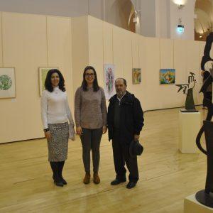 l Centro Cultural San Marcos acoge una exposición colectiva de artistas españoles y argentinos hasta el 24 de febrero