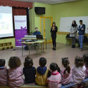 l Ayuntamiento ofrece conciertos didácticos en distintos colegios de la ciudad para acercar la música a los escolares