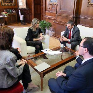a alcaldesa traslada su apoyo a la Federación Española de Diabetes que celebrará su III Congreso Nacional en Toledo