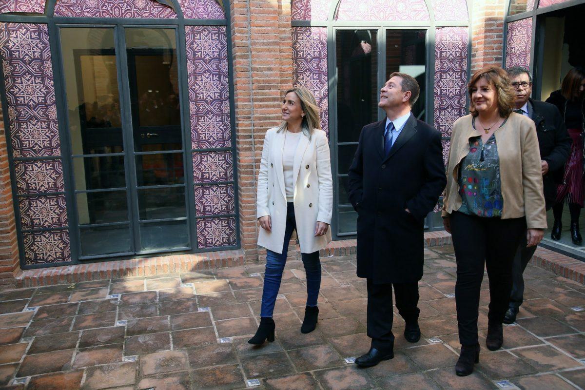 http://www.toledo.es/wp-content/uploads/2019/02/02_mezquita_tornerias-1200x800.jpg. La alcaldesa afirma que el Centro de Promoción de la Artesanía en Tornerías será un espaldarazo para el Casco Histórico y para Toledo