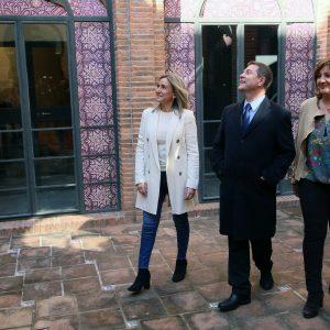 a alcaldesa afirma que el Centro de Promoción de la Artesanía en Tornerías será un espaldarazo para el Casco Histórico y para Toledo