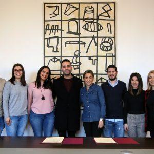 ilagros Tolón apuesta por los jóvenes creadores toledanos y les facilita un espacio cultural en el centro 'Cardenal Cisneros'