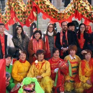 l Consistorio toledano se suma a los actos de celebración del Año Nuevo Chino organizados por el Instituto Confucio de la UCLM