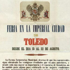 Carteles de Toledo de 1878-1892