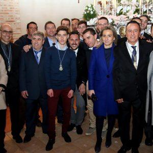 a alcaldesa celebra la Candelaria con los vecinos y vecinas de Azucaica y destaca la importancia de conservar las tradiciones