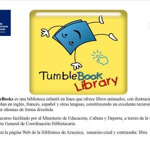 umbleBook Library biblioteca infantil en línea, ofrece libors animados en inglés, francés y español