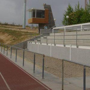 a alcaldesa avanza que la pista de atletismo del Polígono abrirá a partir de este lunes, 4 de febrero, también en horario de mañana