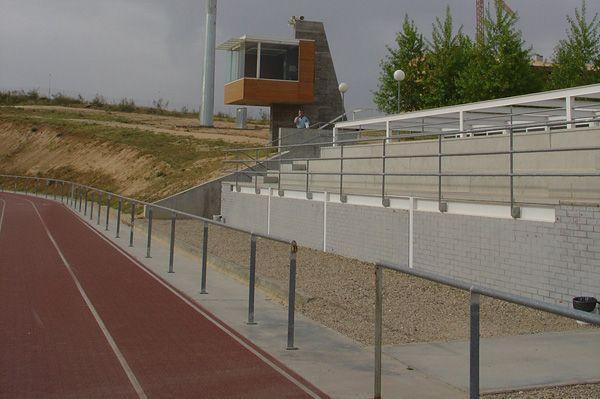 La alcaldesa avanza que la pista de atletismo del Polígono abrirá a partir de este lunes, 4 de febrero, también en horario de mañana