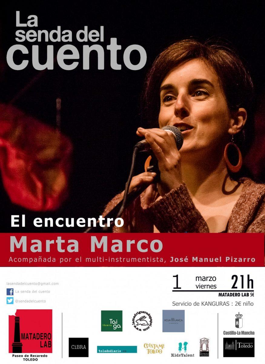 https://www.toledo.es/wp-content/uploads/2019/02/adultos-marta-marco-2019-copia-875x1200.jpg. LA SENDA DEL CUENTO