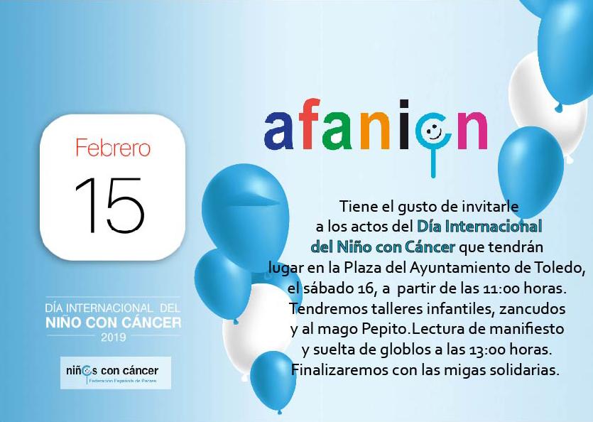 https://www.toledo.es/wp-content/uploads/2019/02/afanion.jpg. Día Internacional del niño con cáncer