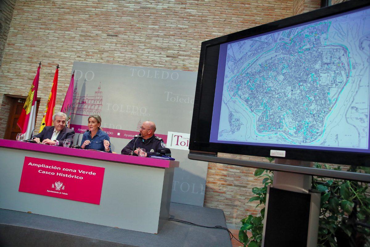 http://www.toledo.es/wp-content/uploads/2019/02/ampliacion-plazas-y-horario-zona-verde-1200x800.jpeg. Milagros Tolón anuncia más plazas de aparcamiento para residentes y la entrada en vigor este sábado del nuevo horario de protección