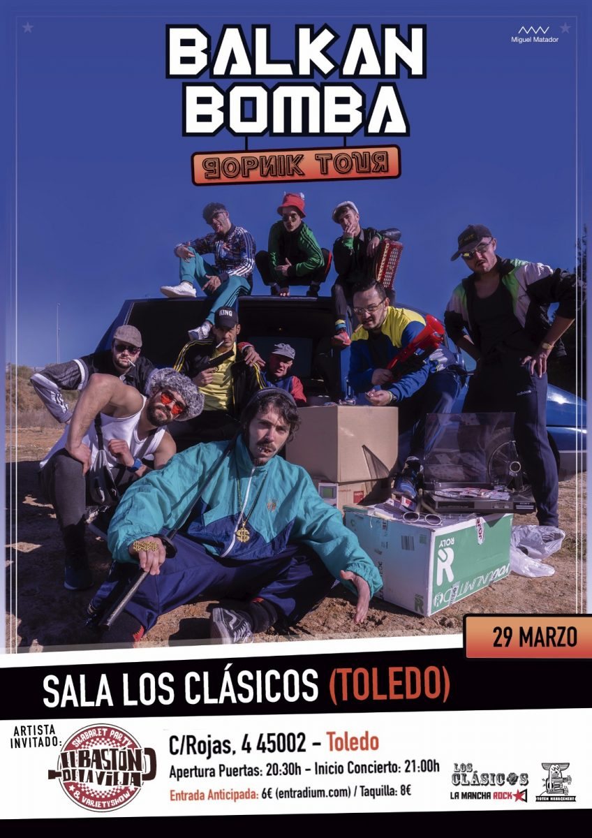 https://www.toledo.es/wp-content/uploads/2019/02/balkan-bomba-848x1200.jpg. BALKAN BOMBA + EL BASTON DE LA VIEJA