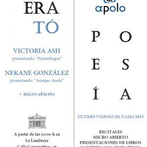 CLUB ERATÓ (Club de poesía)