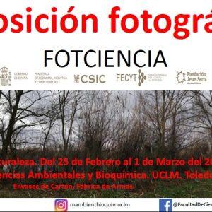 Semana de la Naturaleza: Exposición FOTCIENCIA15 (CSIC y FECYT).