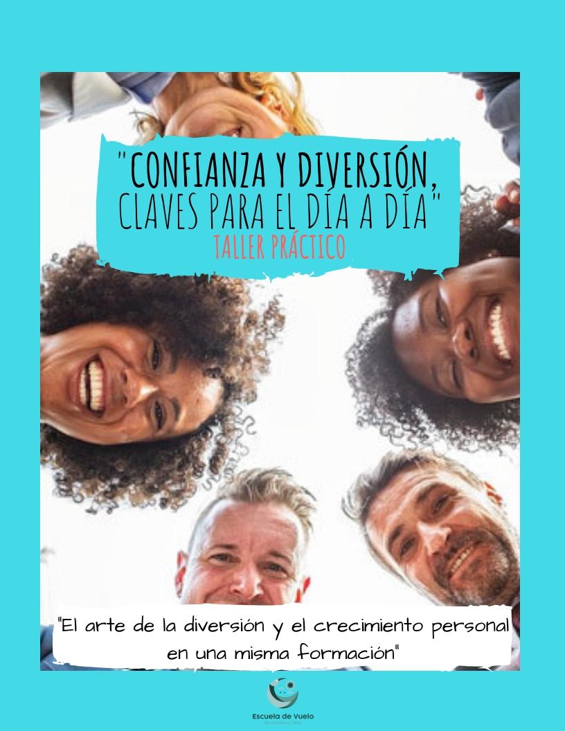 https://www.toledo.es/wp-content/uploads/2019/02/confianza_y_diversion.jpg. Taller Confianza y diversión, claves para el día a día