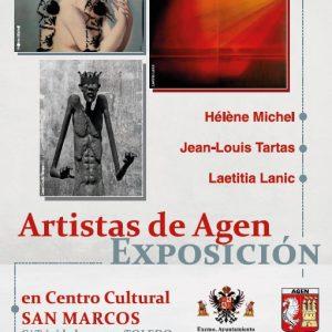 Exposición Artistas de Agen