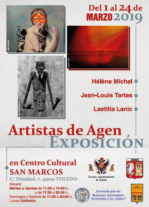 https://www.toledo.es/wp-content/uploads/2019/02/exposicion-san-marcos.jpg. Exposición Artistas de Agen