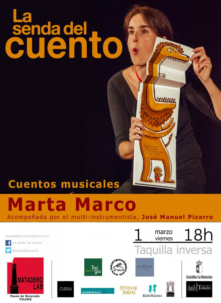 https://www.toledo.es/wp-content/uploads/2019/02/familiar-marta-marco-2019-copia-875x1200.jpg. LA SENDA DEL CUENTO