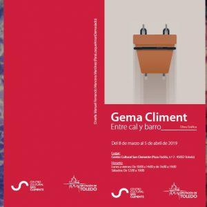 """Exposición Gema Climent """"Entre cal y canto"""""""