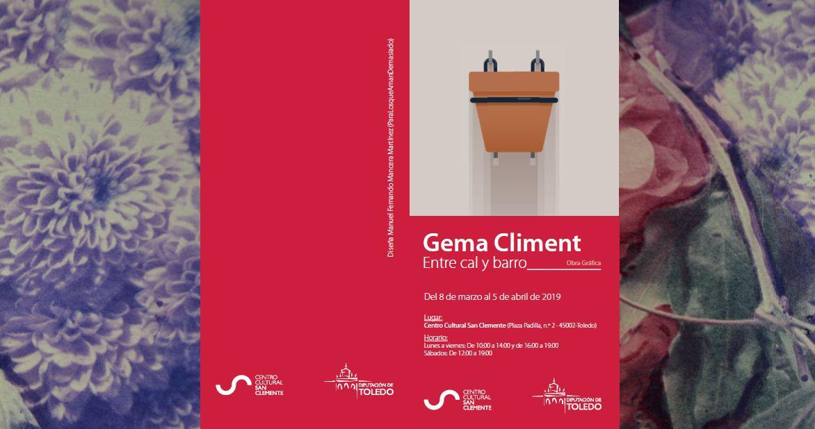 "http://www.toledo.es/wp-content/uploads/2019/02/gema.jpg. Exposición Gema Climent ""Entre cal y canto"""