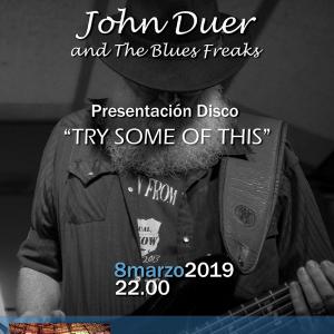 JOHN DUER & THE BLUES FREAKS