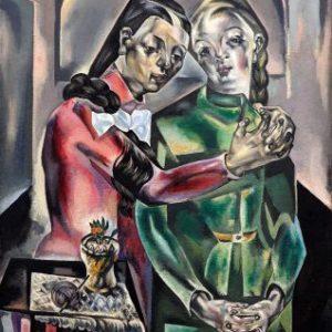 Pieza Invitada: Les deux soeurs (1921). María Blanchard