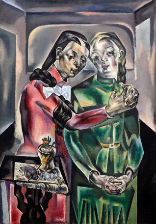 http://www.toledo.es/wp-content/uploads/2019/02/lex-deux.jpg. Pieza Invitada: Les deux soeurs (1921). María Blanchard