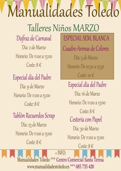 https://www.toledo.es/wp-content/uploads/2019/02/manualidades.png. Taller de Manualidades: Disfraz de Carnaval