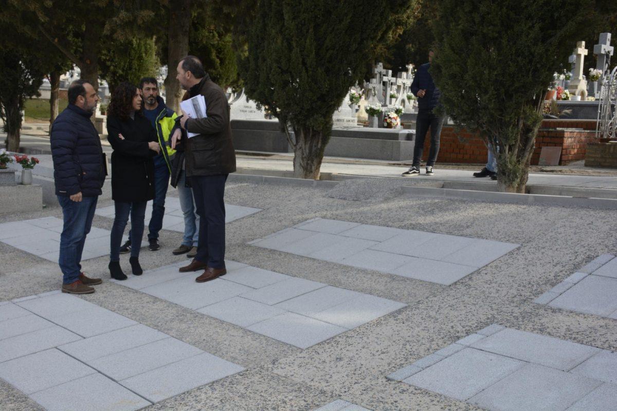 http://www.toledo.es/wp-content/uploads/2019/02/mejora-patio-31-cementerio-municipal-1200x800.jpg. Finalizan las obras de mejora y dignificación del patio 31 del Cementerio Municipal con nuevos accesos y un sistema de drenaje
