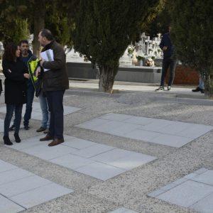 Finalizan las obras de mejora y dignificación del patio 31 del Cementerio Municipal con nuevos accesos y un sistema de drenaje