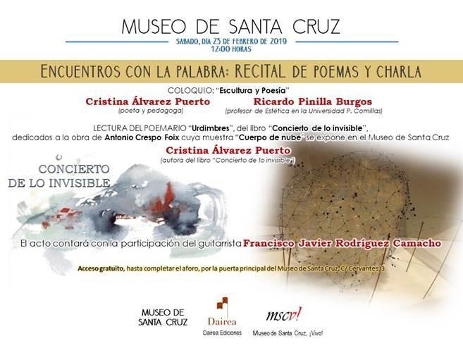https://www.toledo.es/wp-content/uploads/2019/02/museo-de-santa-cruz.jpg. Recital Poético, Charla y Concierto