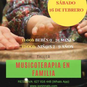 Musicoterapia en familia