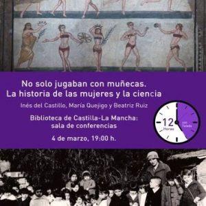 Charla: No solo jugaban con muñecas: La historia de las mujeres y la ciencia