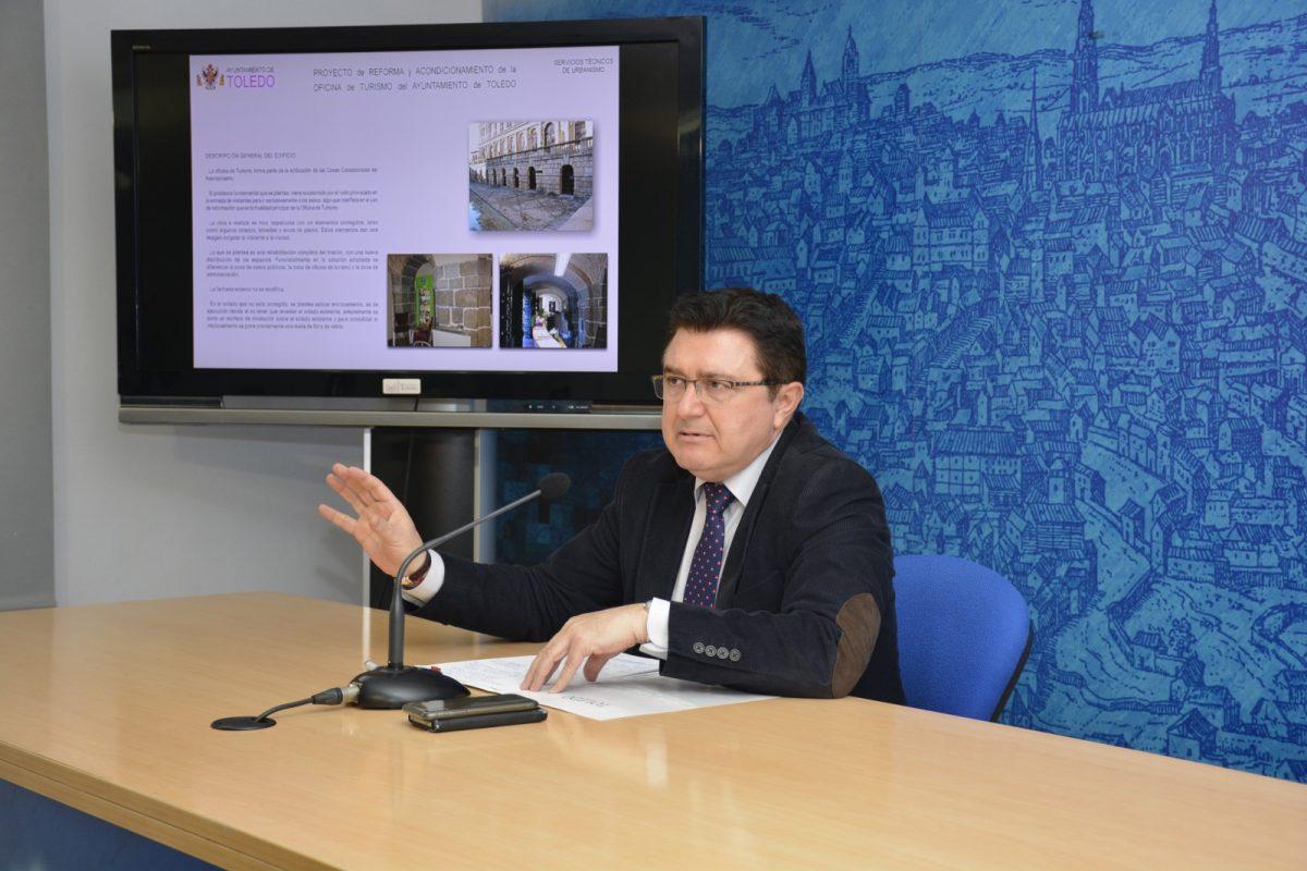 http://www.toledo.es/wp-content/uploads/2019/02/oficina-turismo_teo-garcia-1200x800.jpg. La Oficina de Turismo del Ayuntamiento contará con nuevos aseos públicos, accesibles, y un área renovada para la atención al turista