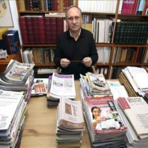 CICLO VALORES DE UNA VIDA: Conferencia El periodismo es libre o es una farsa. Prensa en Castilla La Mancha de ayer y de hoy